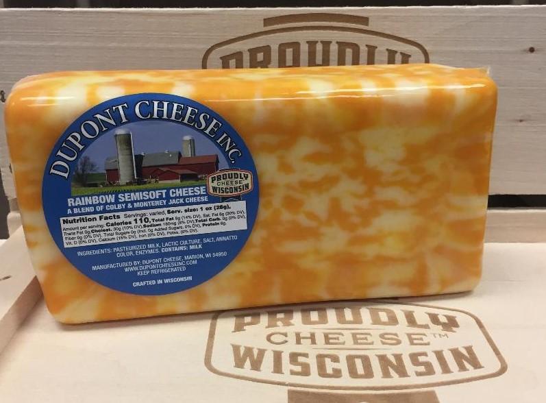 2 lb Rainbow Cheese